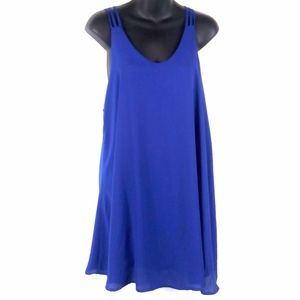 Audrey 3+1 Racerback Shift Dress Anthropologie